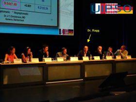 Dr. Ragg auf einem UIP-Kongress
